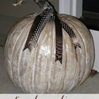 Antiqued Pumpkins