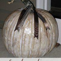 Antiqued Pumpkins