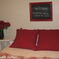 chalkboard frame final guest bedroom copy