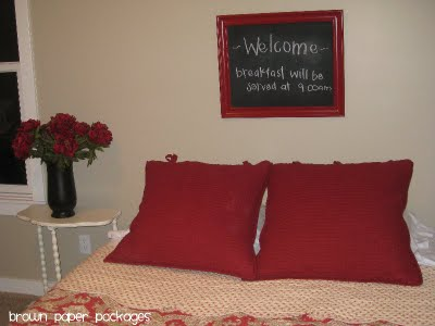 chalkboard frame final guest bedroom copy