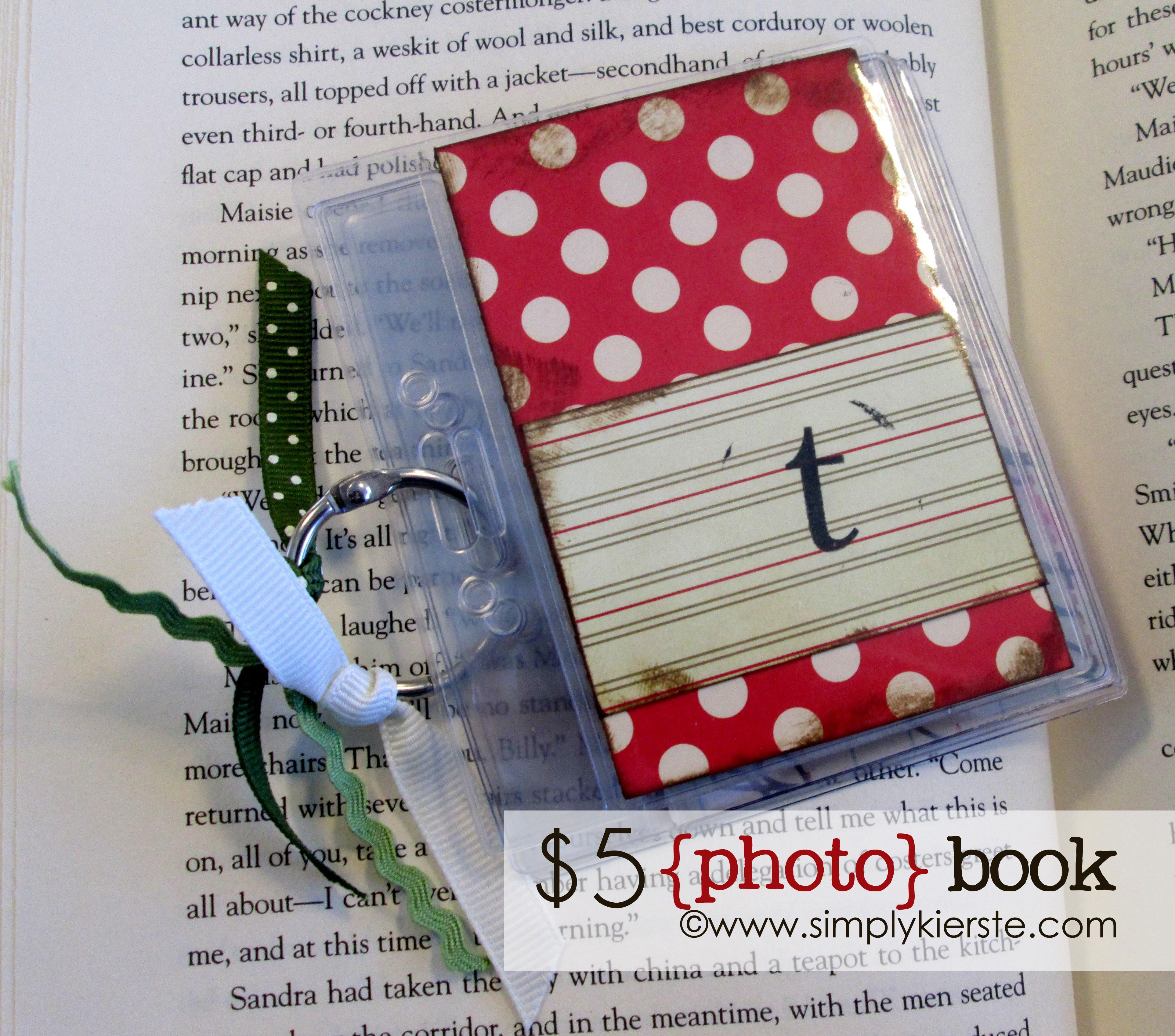 $5 Purse-sized Photo Brag Book