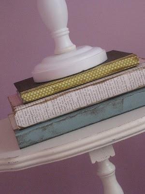 {covered decorative books}