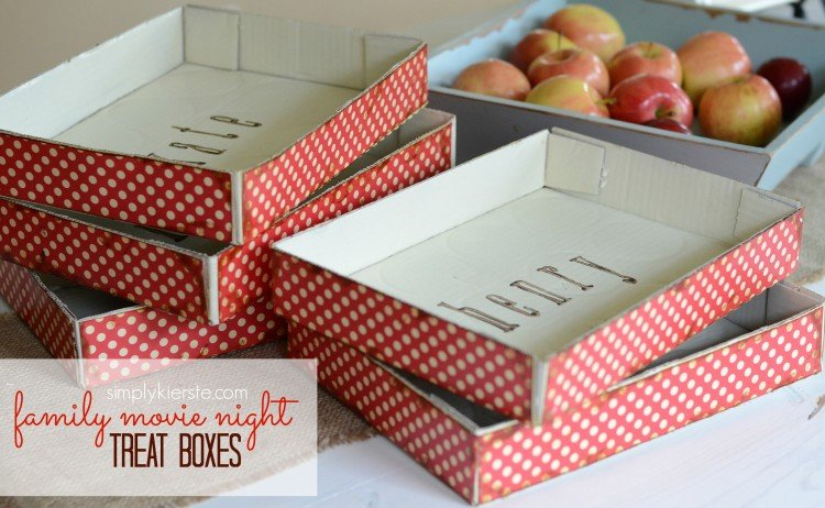 treat boxes | family movie night | simplykierste.com