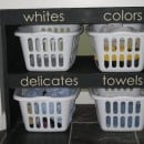 laundry shelves close
