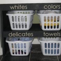 {laundry shelves}
