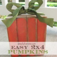 {out of the vaults…2×4 pumpkins}