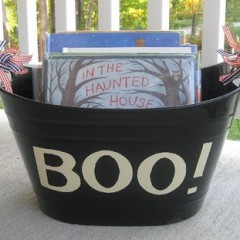 boo basket full
