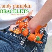 {candy pumpkin bracelets}