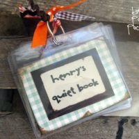 {mini quiet books}