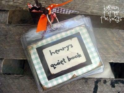 Mini Quiet Books
