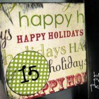 {advent calendar}