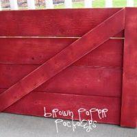 {DIY barn door}