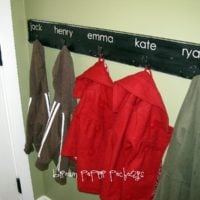 {quick & simple coat hooks}