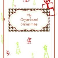 {organized christmas planner} free printables