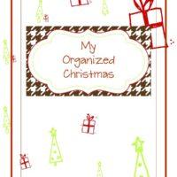 {organized christmas planner} free printables