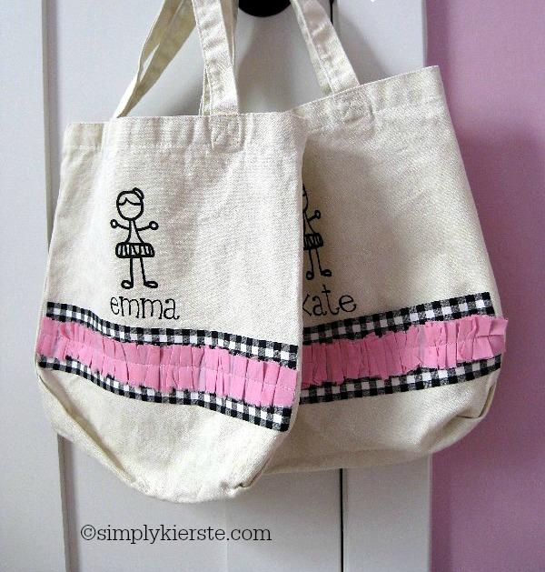 ballet bag | oldsaltfarm.com