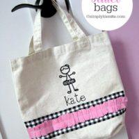 DIY Ballet Bags