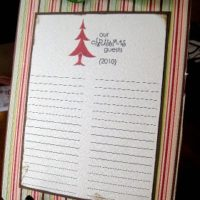 {christmas guest list}