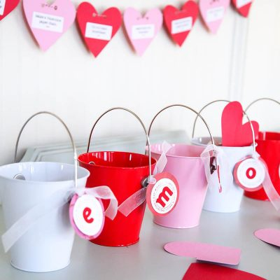 Love Buckets: Valentine's Day Family Tradition