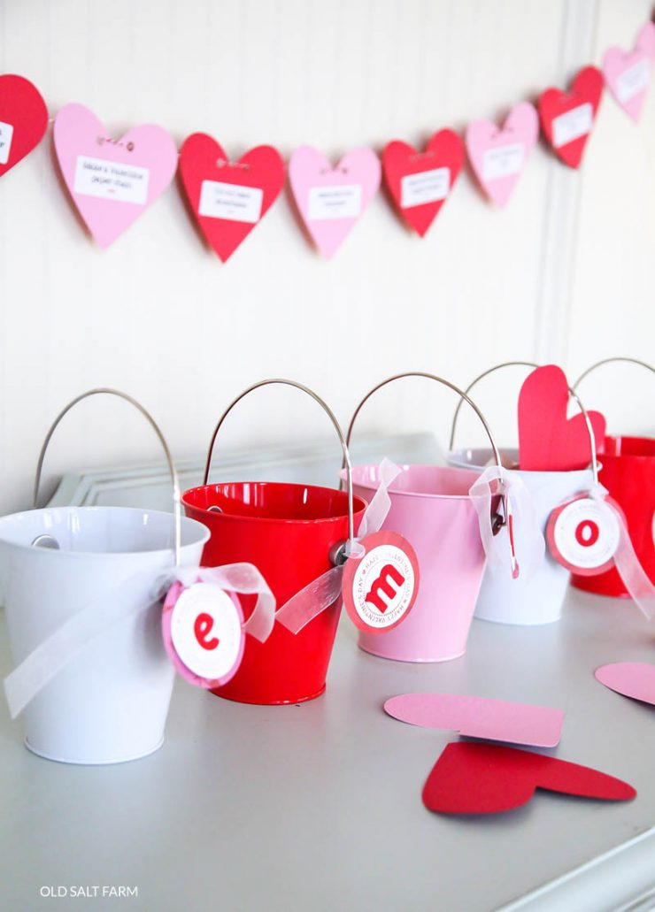 Love Buckets | Valentine's Day Tradition
