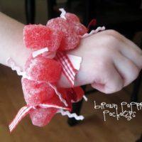 {candy heart bracelets}