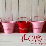 {love buckets}