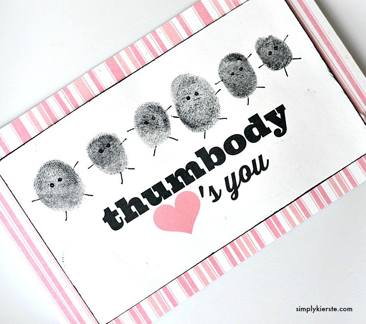 Thumbprint valentine | oldsaltfarm.com