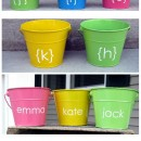 Personalized Easter Pails | simplykierste.com