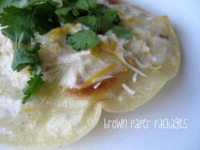 Crockpot Green Enchiladas | simplykierste.com