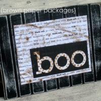 {boo! beadboard sign}