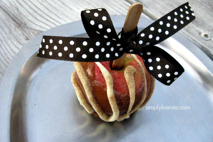 the perfect caramel apple | simplykierste.com