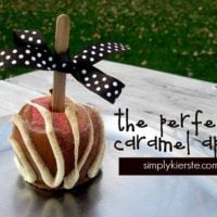 {the perfect caramel apple}