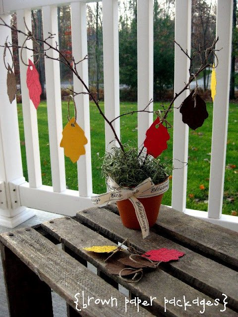 {month of thanksgiving} blessing tree & more... - Simply Kierste Design Co.