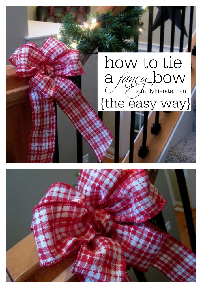 How to Tie a Fancy Bow | oldsaltfarm.com