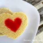{stained glass heart cookies}