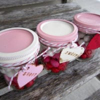 {sweets for the sweet} layered candy mason jars