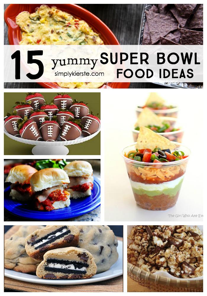 15 yummy super bowl food ideas