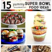 15 yummy super bowl food ideas | simplykierste.com
