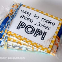 Pop! An Easy & Adorable Music Recital Gift