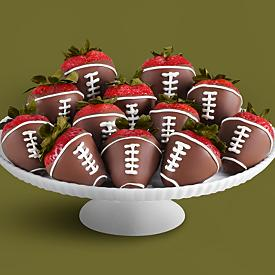 super bowl food dipped strawberries | oldsaltfarm.com