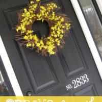 Spring Wreaths For Your Front Door