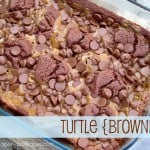 {turtle brownies}
