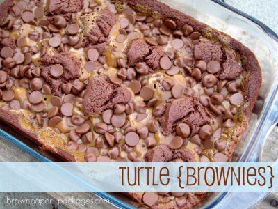 turtle brownies | simplykierste.com
