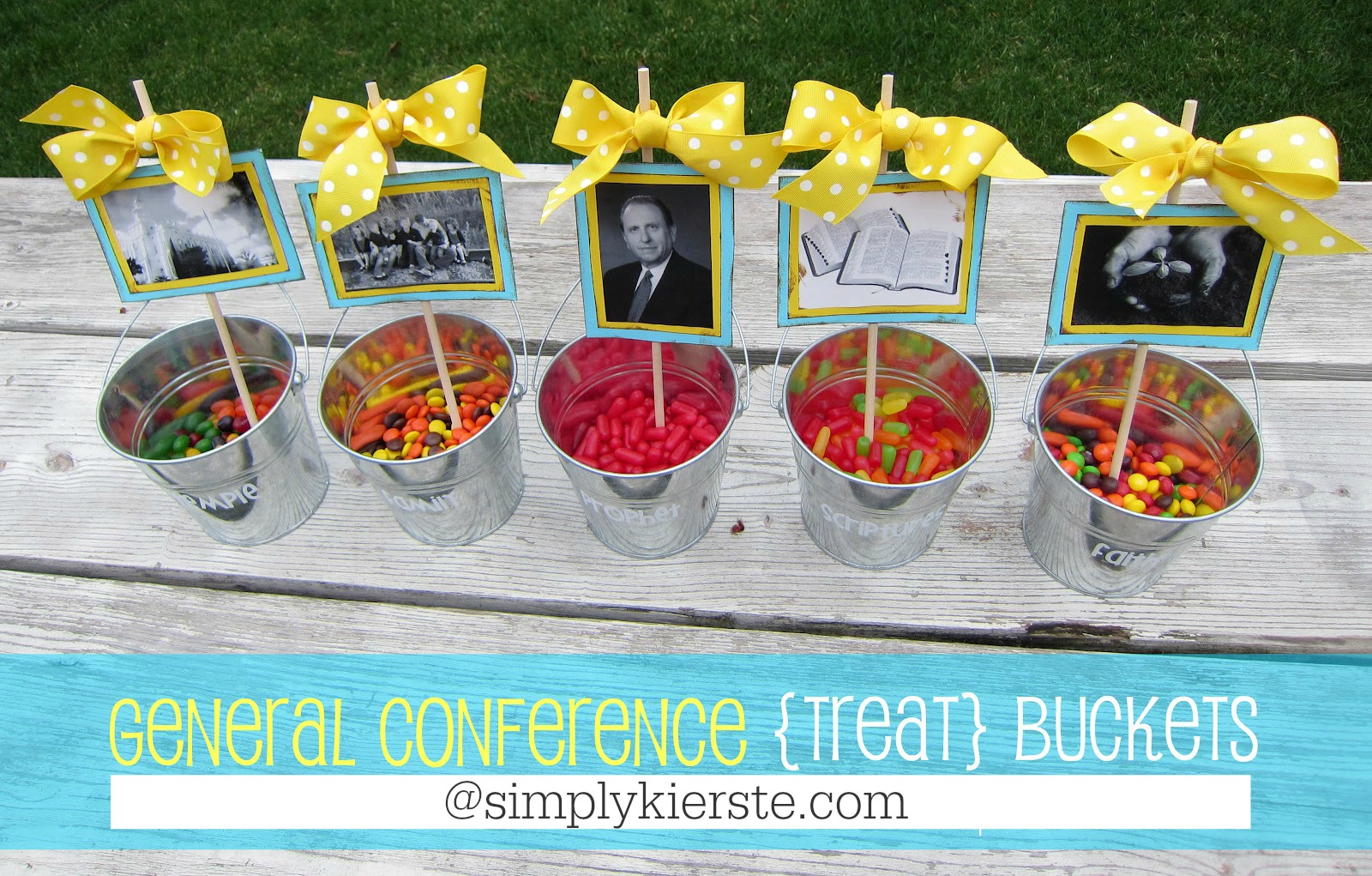 General Conference Treat Buckets | simplykierste.com