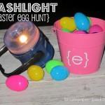 {flashlight easter egg hunt}