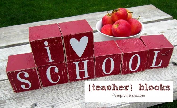 Teacher Blocks | oldsaltfarm.com