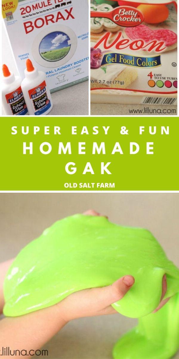 Easy Homemade Gak Recipe