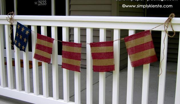 flag bunting | simplykierste.com