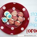 Stars & Stripes Oreos | simplykierste.com