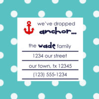 {change of address cards} free printable!